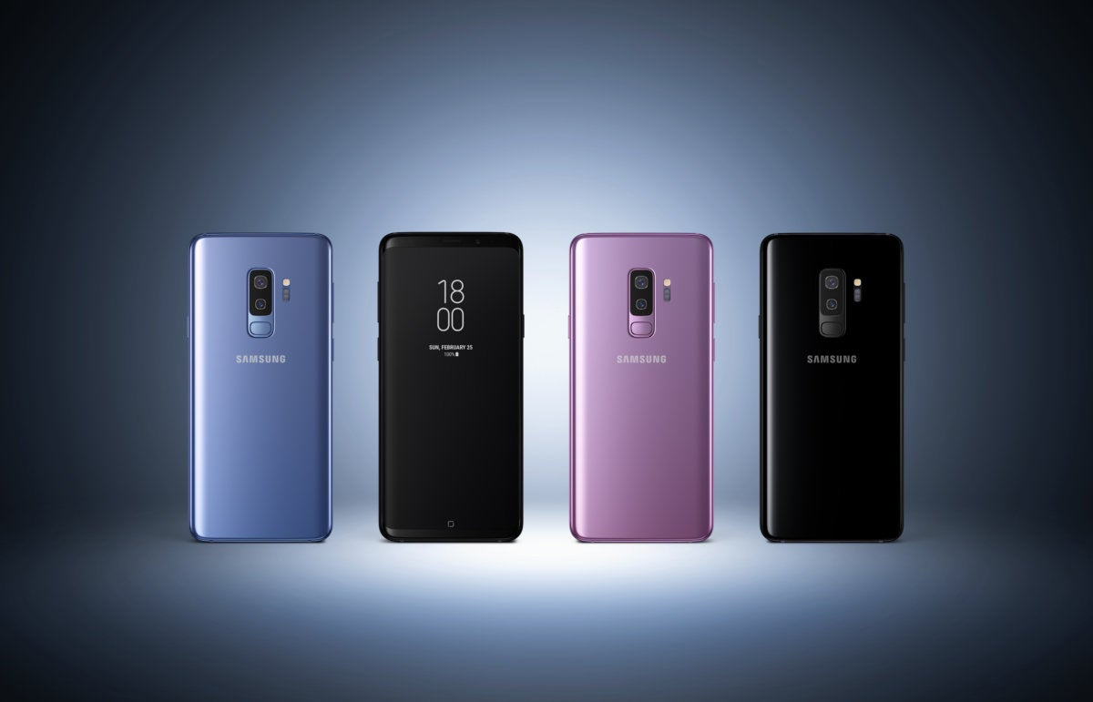 galaxy s9 in colors