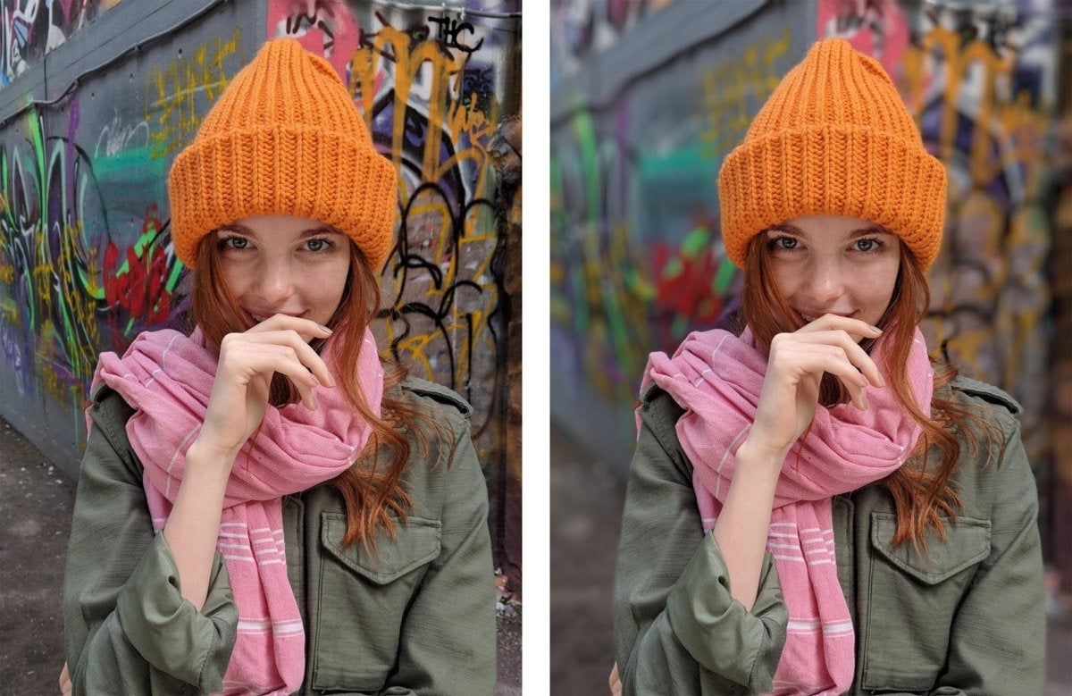 girl with the orange hat s