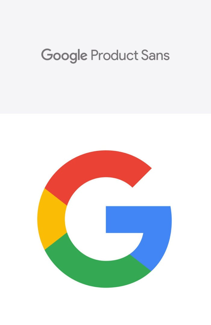 google product sans combined