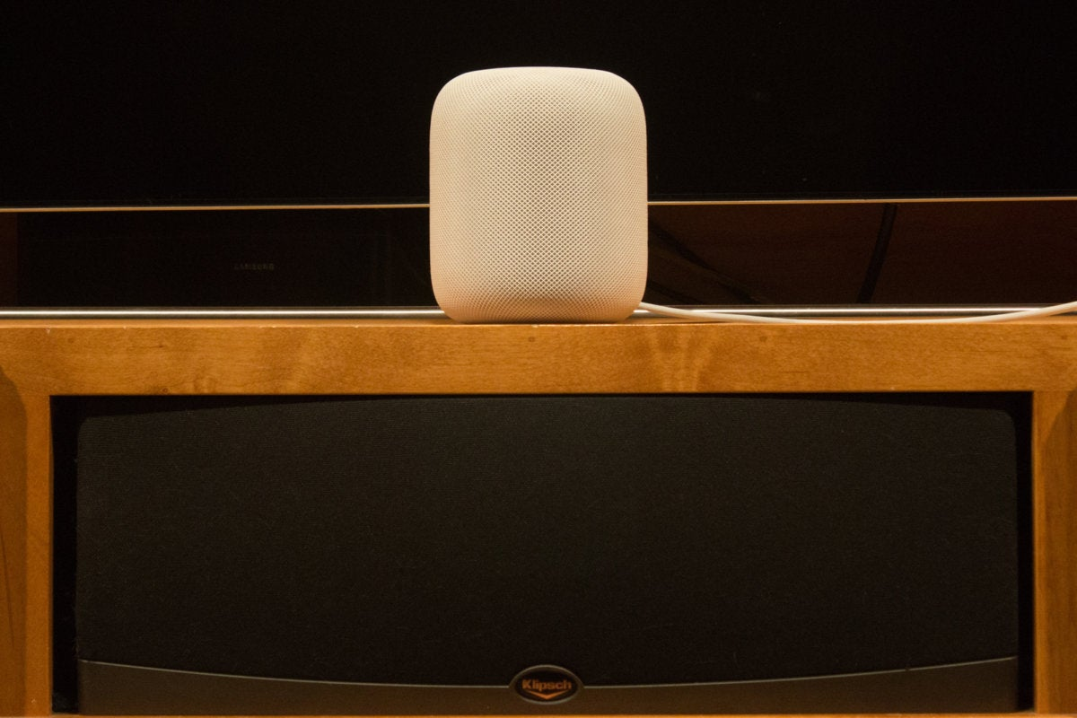homepod tested in home theater