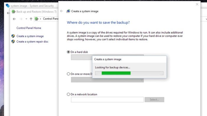 how to backup win10 system image thumb