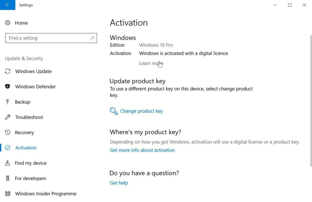 how to fix windows 10 activation problems settings