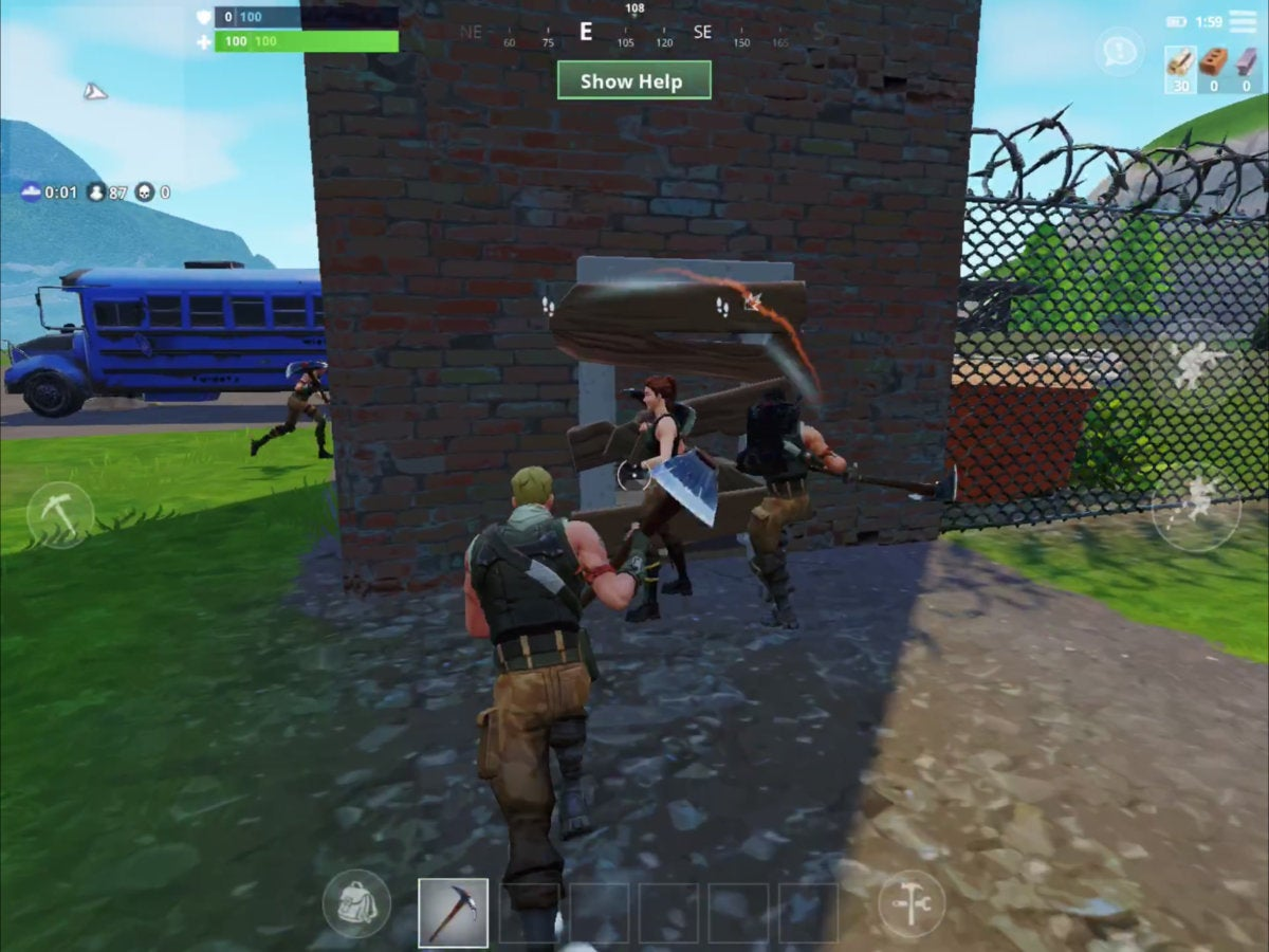 Fortnite for iOS First Look: It's fun, but desktop players