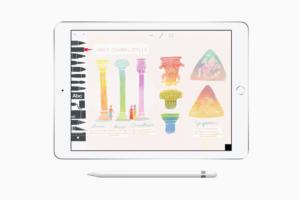 ipad create drawing screen 03272018