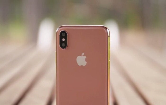 iphone x rose gold leak