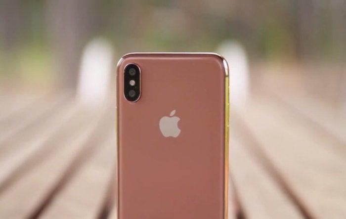 iphone x rose gold leak