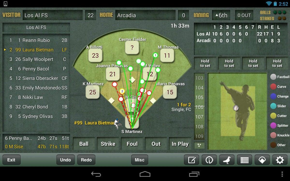 Béisbol IScore