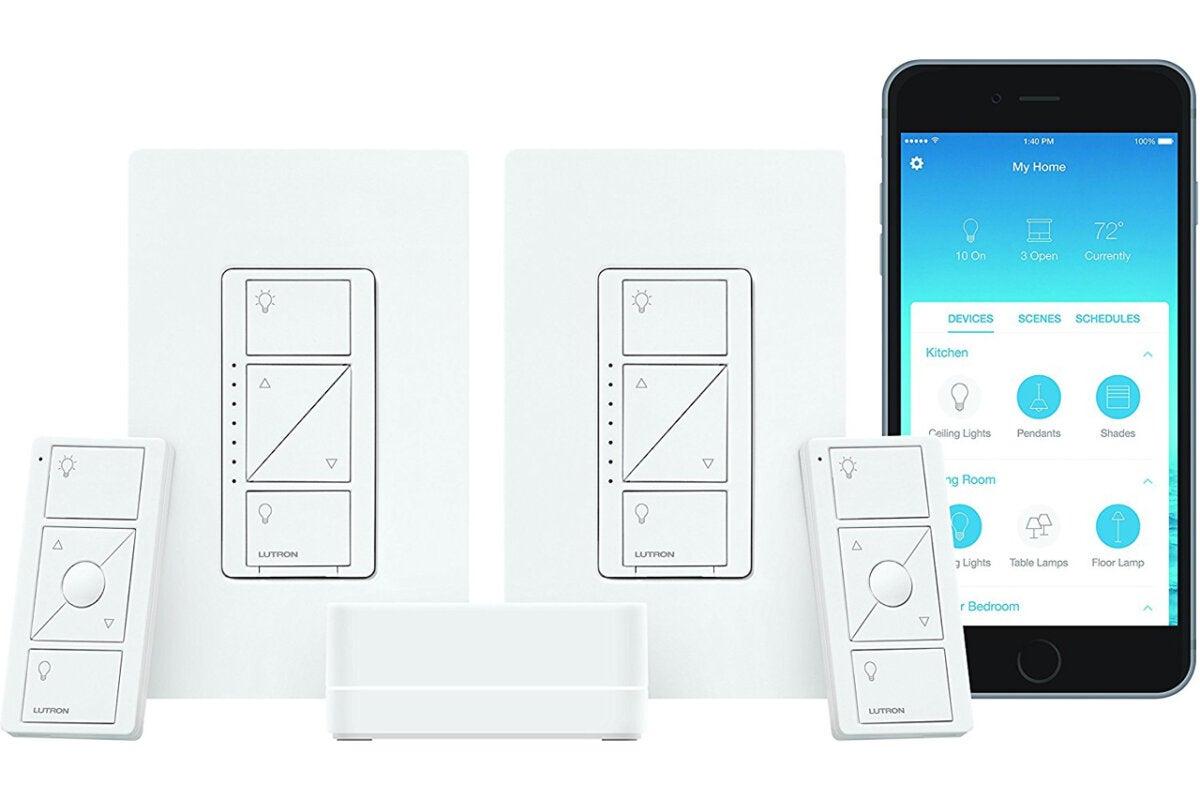Lutron Cas 233 Ta Smart Lighting Dimmer Switch Starter Kit