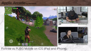 Fortnite vs PUBG Mobile on iOS