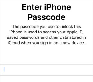 mac911 passcode 2fa entry request