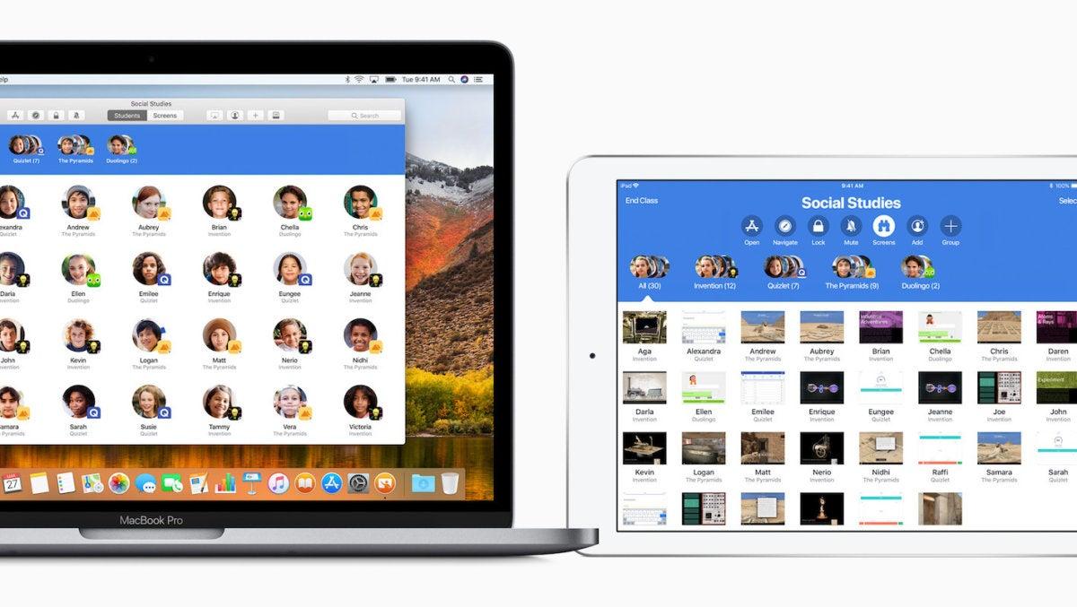 macbook ipad classroom screen 03272018