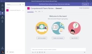 Microsoft Teams start
