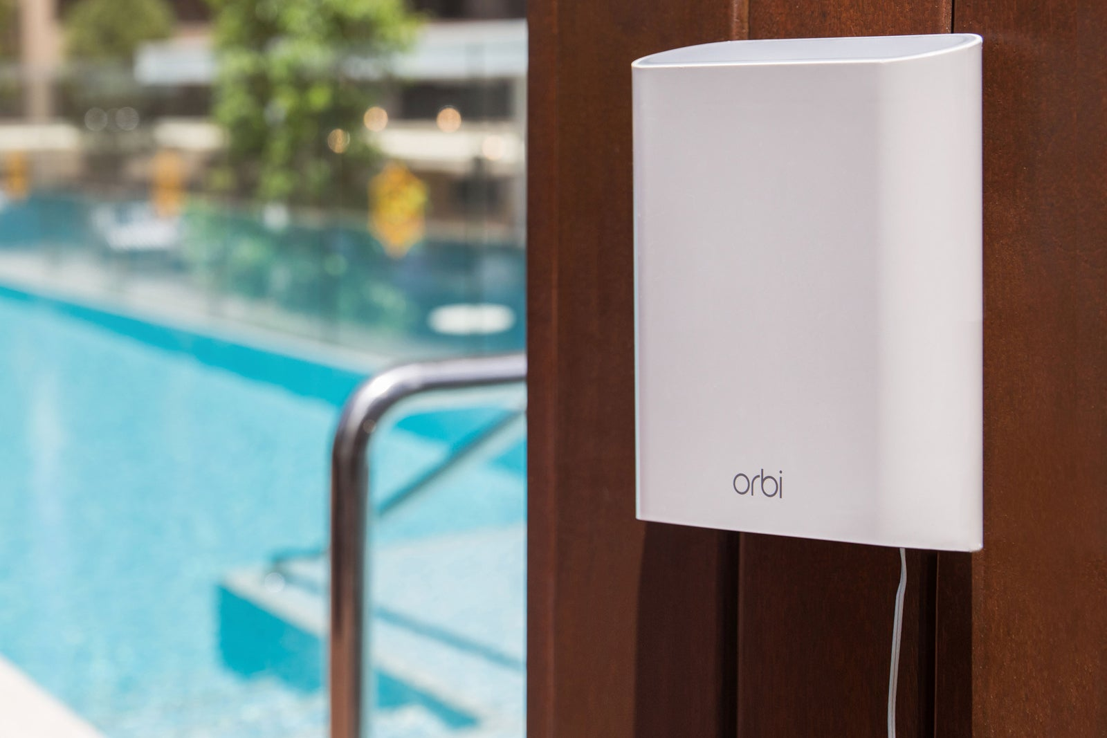 Netgear Orbi Outdoor Satellite review: Great range, but only so-so ...