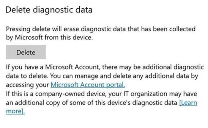 one stop diagnostic data deletion
