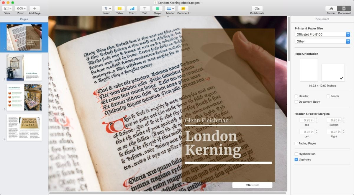 Pages 7 for Mac review | Macworld