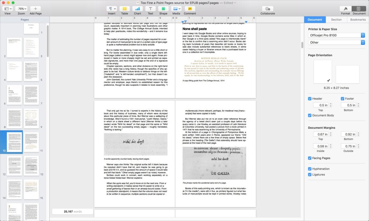 Pages 7 For Mac Review
