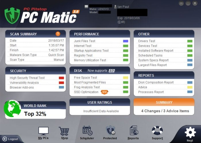 PC Matic 3 0 review: Holistic healing with a race car