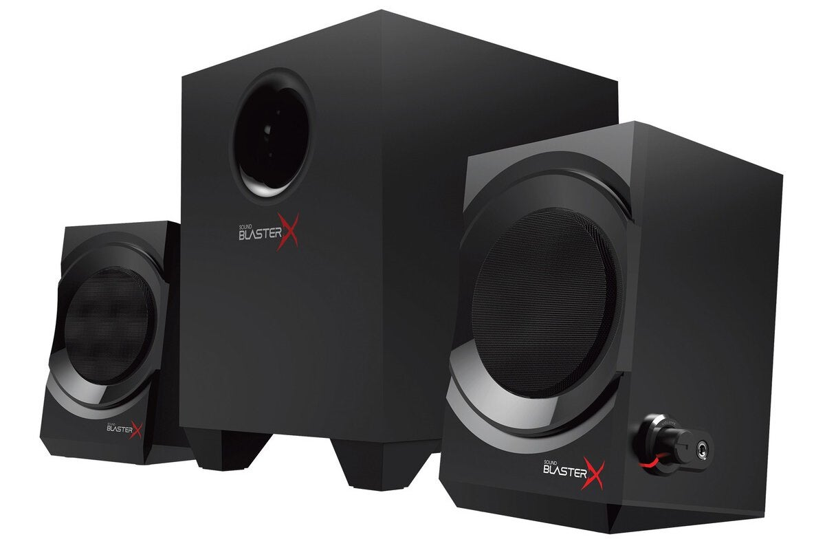 photo image Sound BlasterX Kratos S3 review: A versatile entry-level 2.1 speaker system