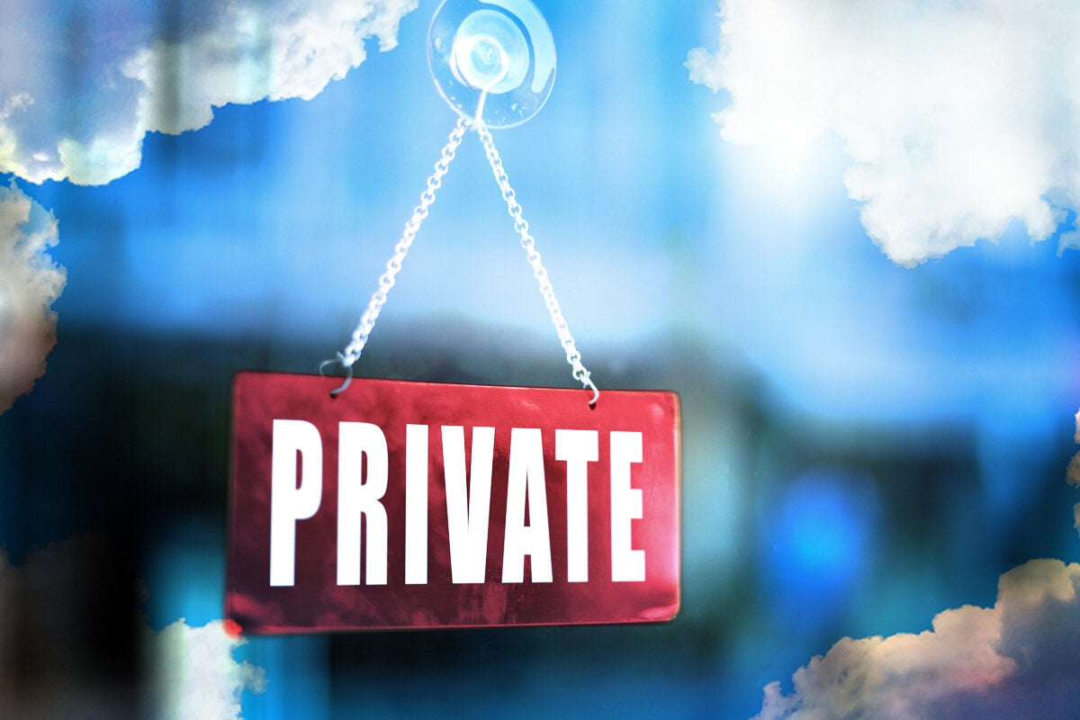 What is a private cloud? [ And some things that it's not