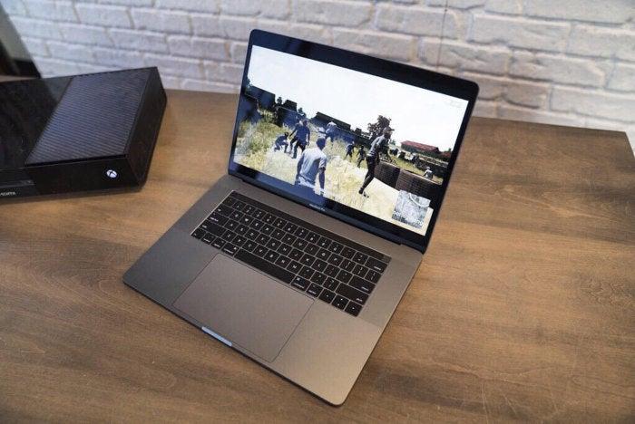 PUBG on a MacBook Pro