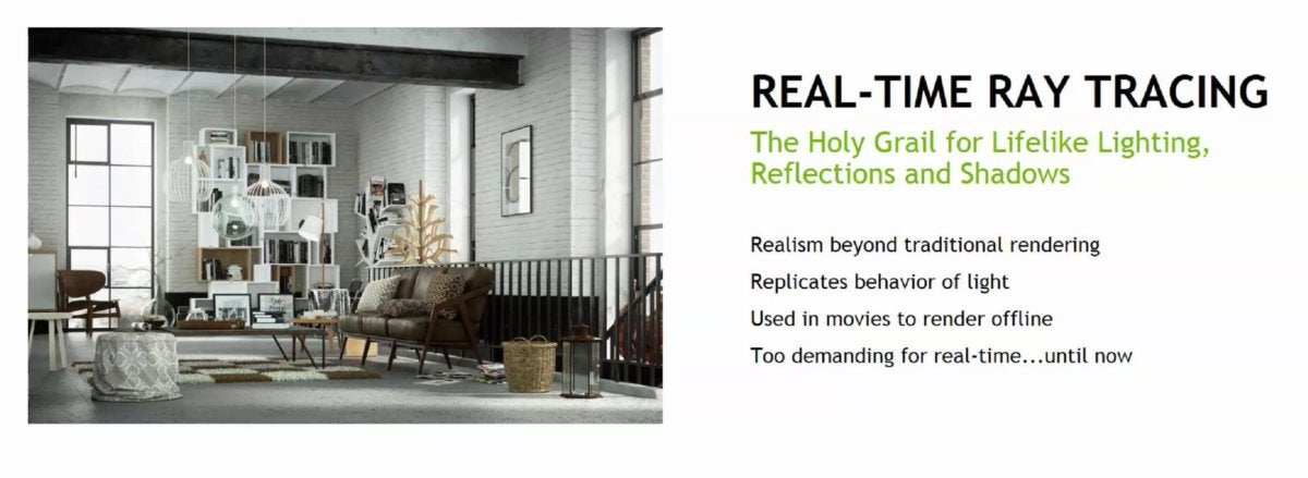 real time ray tracing holy grail nvidia