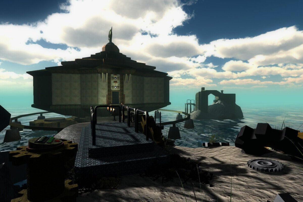 Every Myst Game Is Being Rereleased For Its 25th Anniversary With A Real Linking Book Pcworld