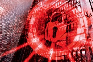 red padlock cybersecurity threat ransomeware