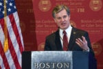 FBI Director Christopher Wray speaks at Boston College