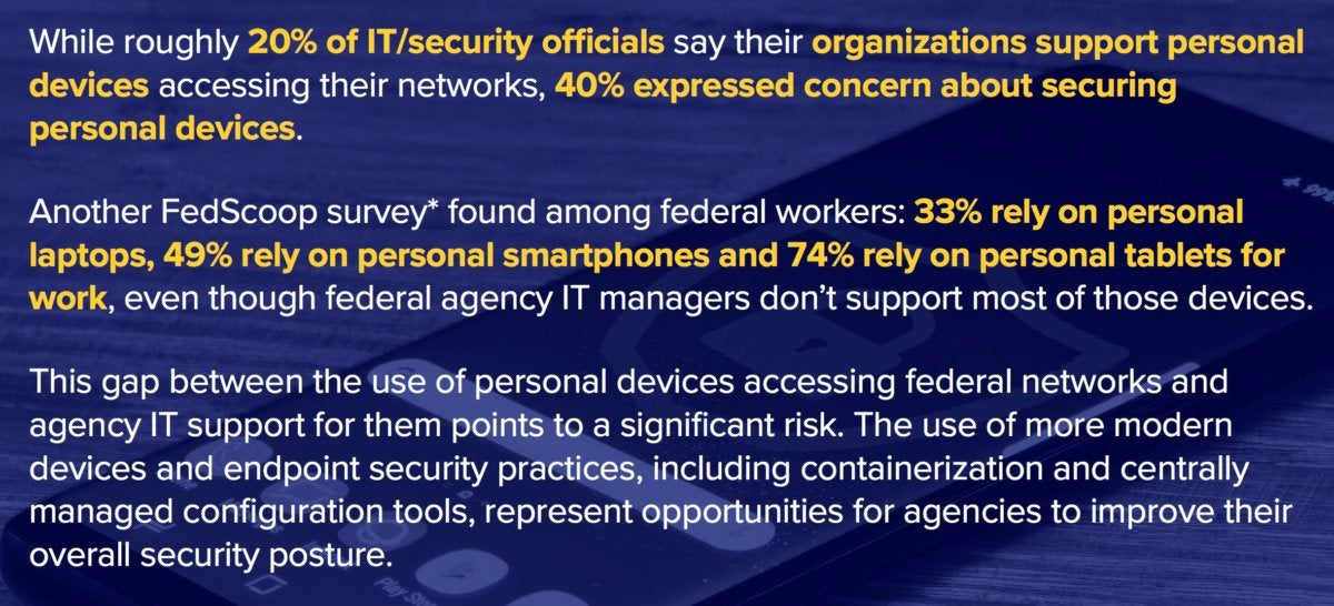 federal mobile security