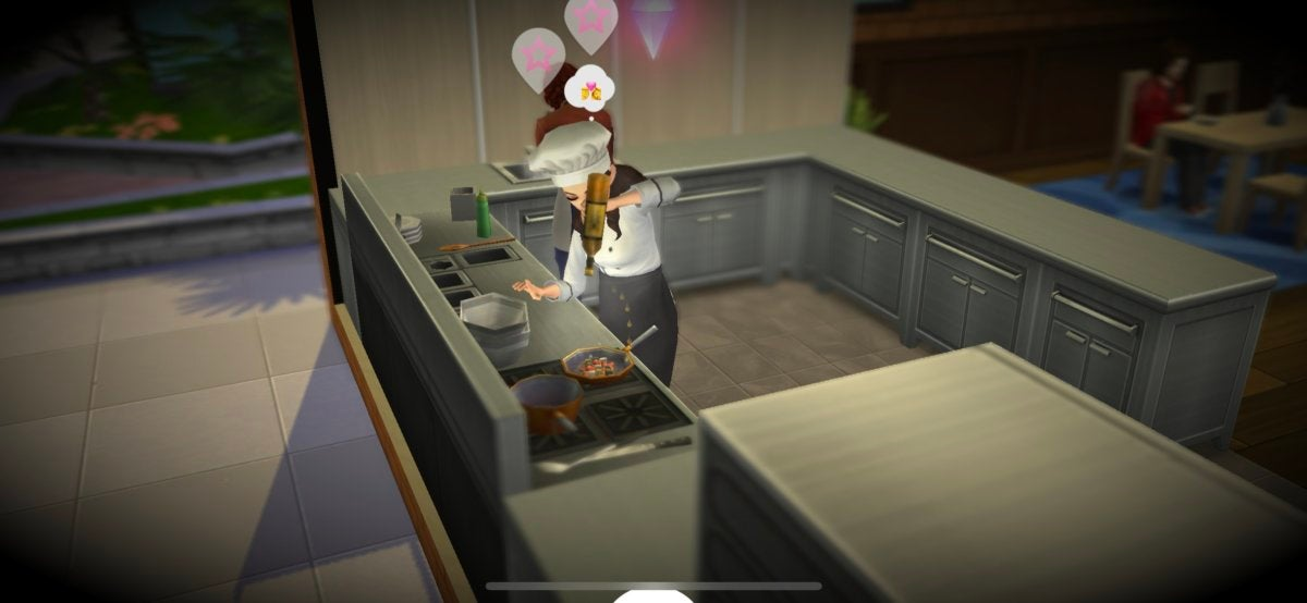 sims mobile cooking