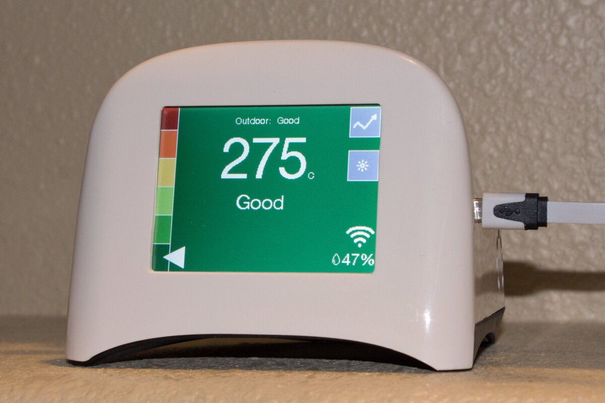 Airviz Speck Indoor Air Quality Monitor Review It S Great