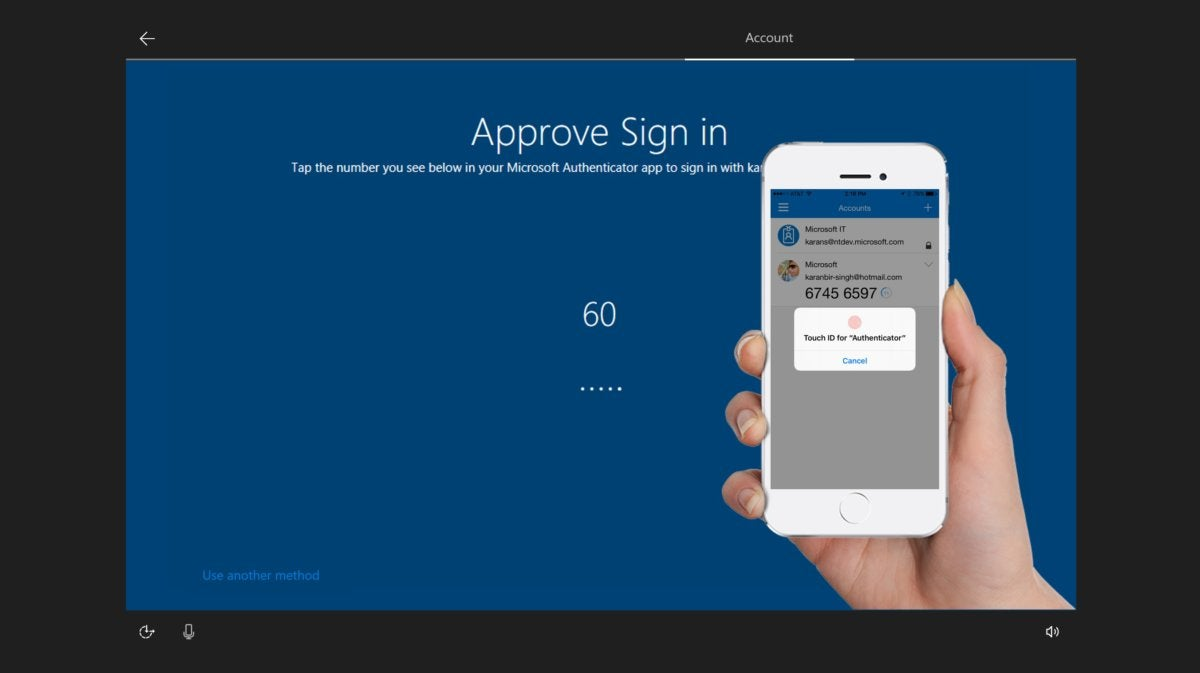 Microsoft windows 10 s authenticator app