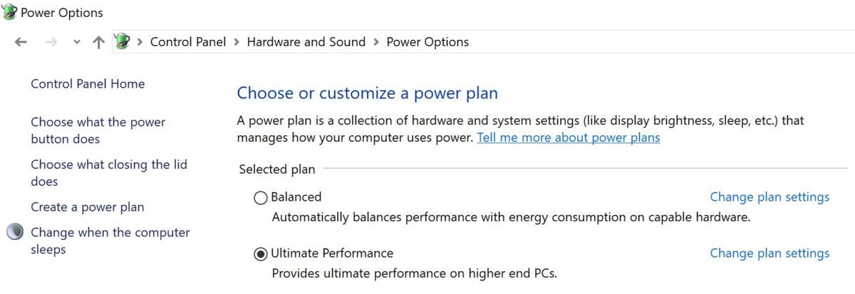 windows for workstations ultimate performance