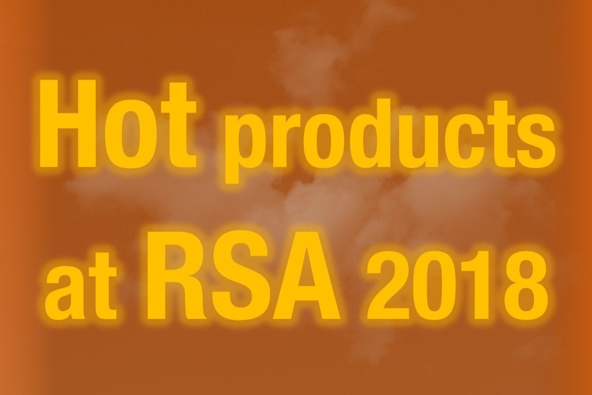 01 hot products at rsa 2018