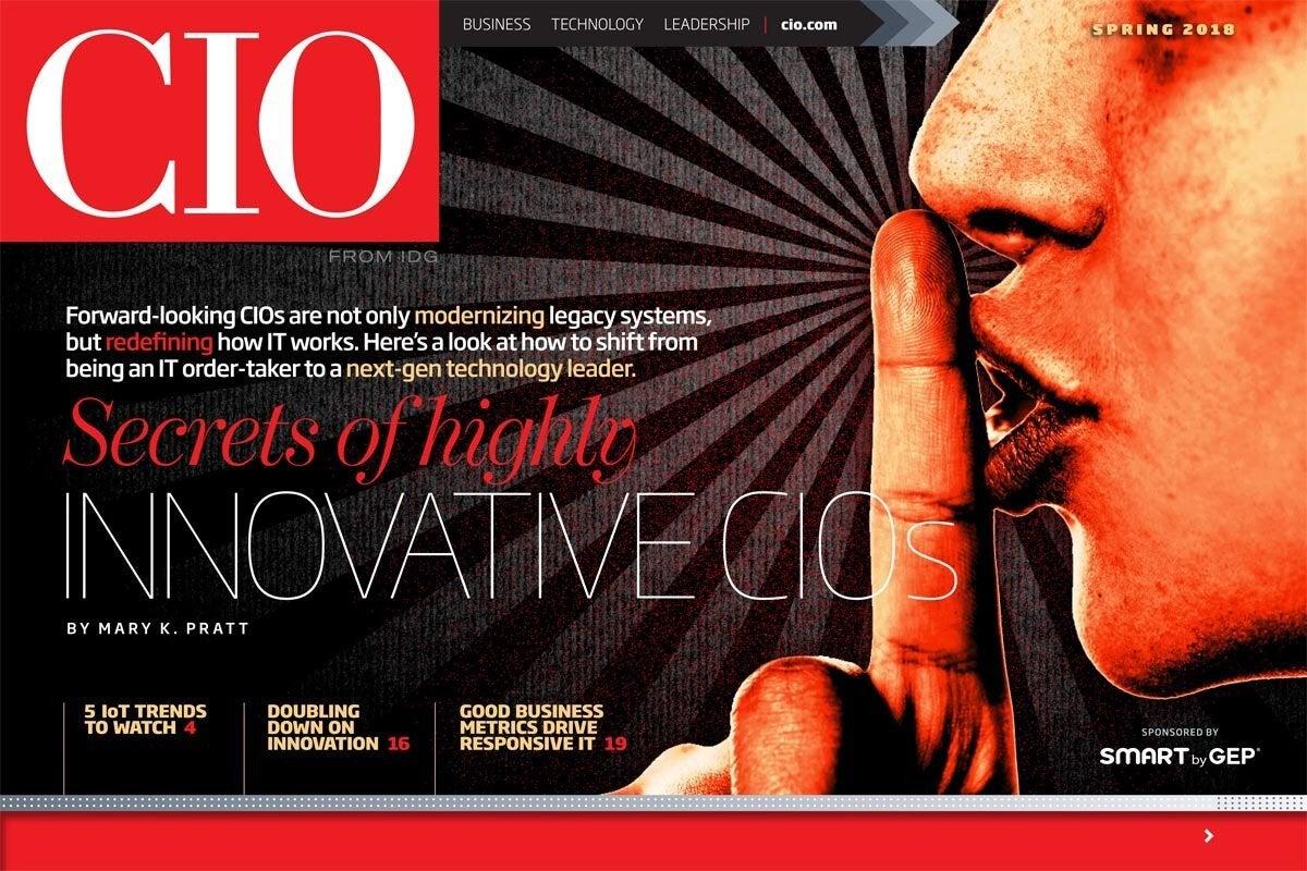 Spring 2018: Secrets of highly innovative CIOs