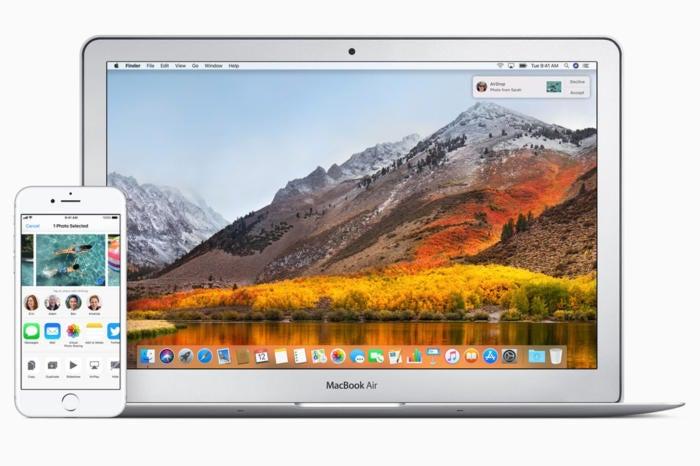 airdrop 2018 apple stock