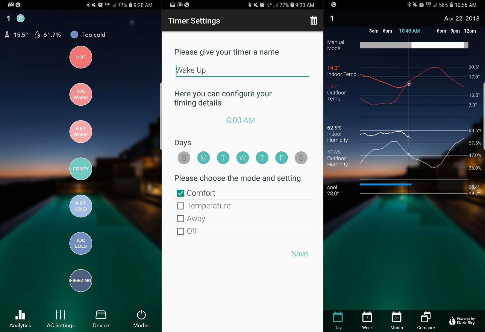 App For Telling Room Temperature