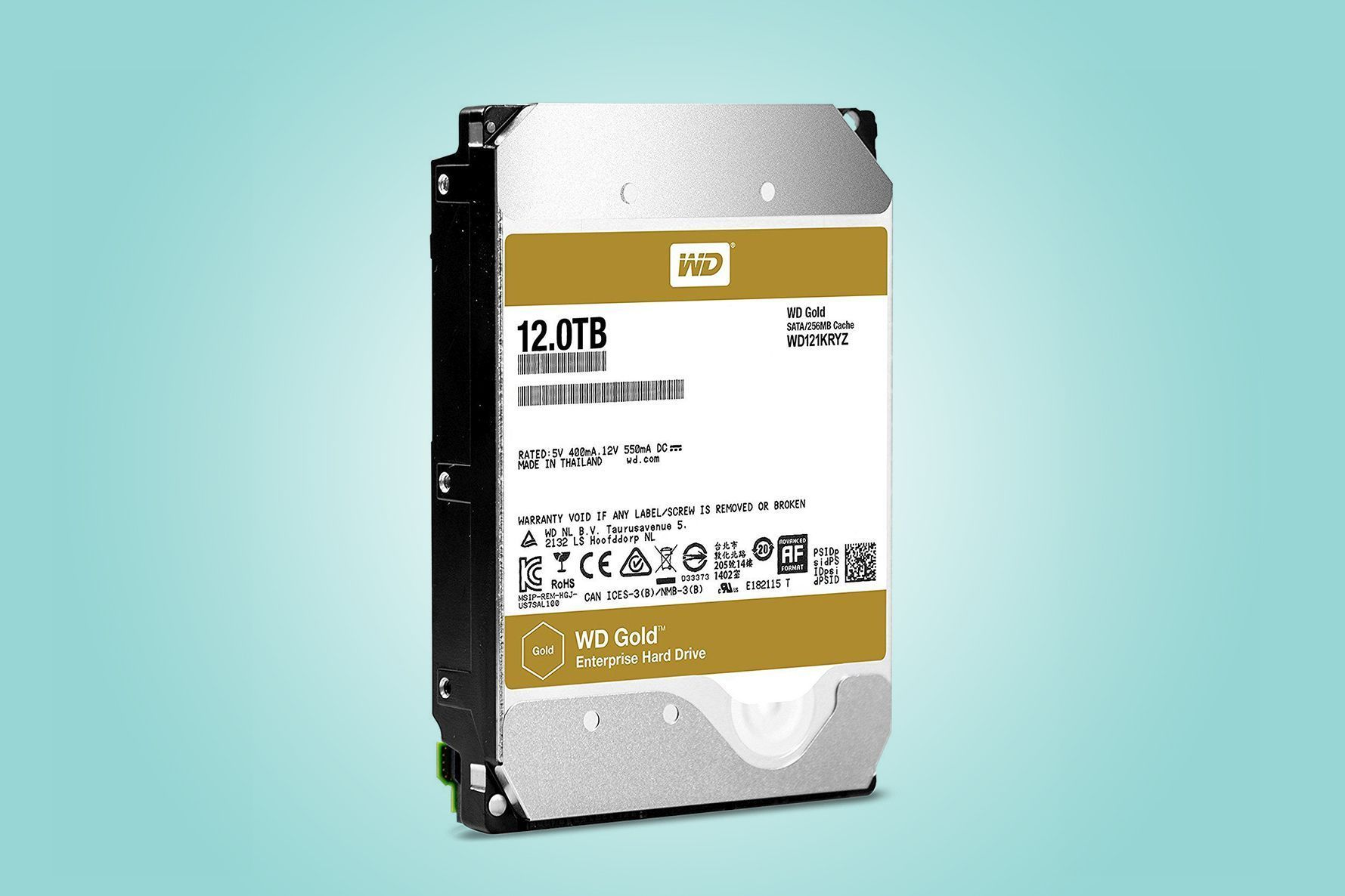 Wd Gold Enterprise Class Hard Drive Review 12tb Of Vast Storage Diagram Disk Mounting Goodness Pcworld