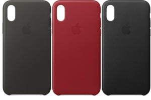 apple iphone x leather cases