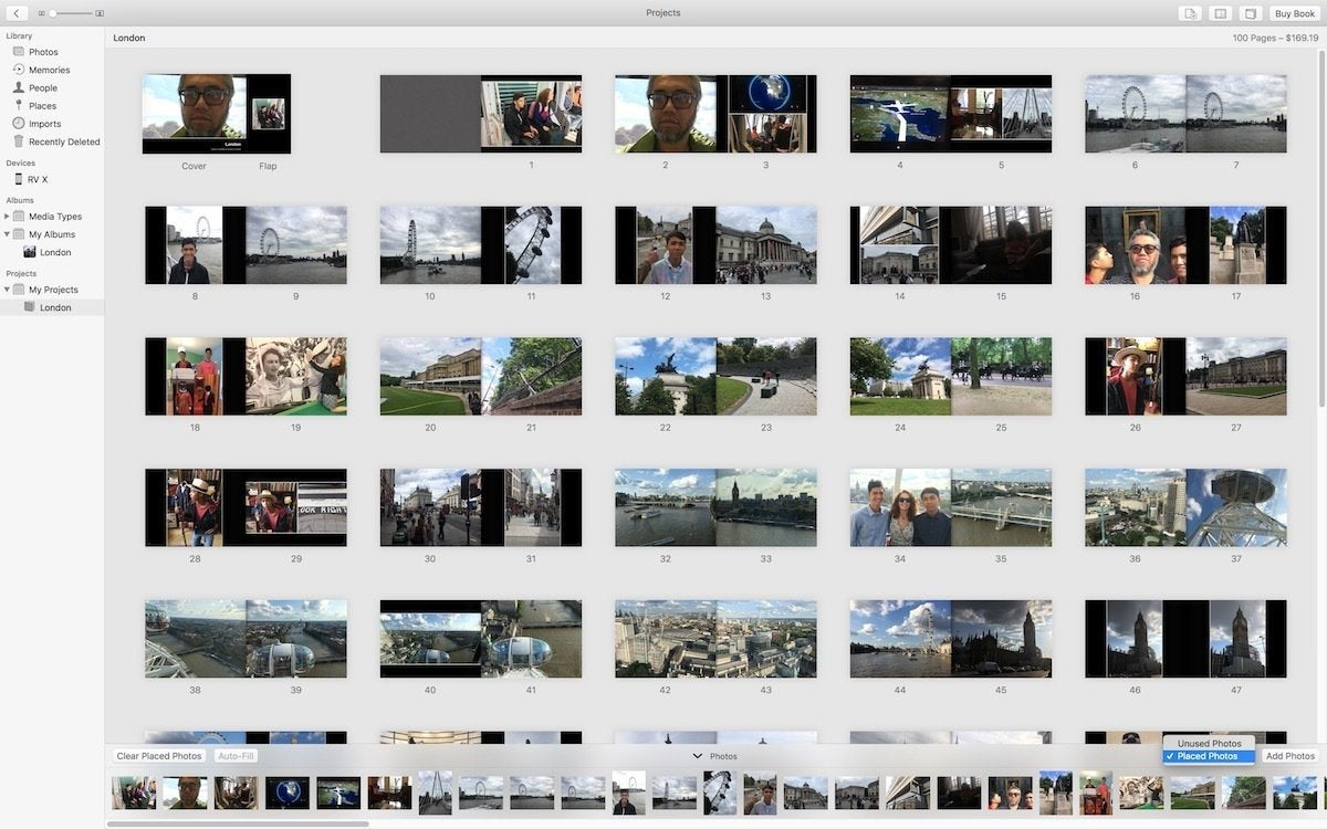 how to create a photo book in apple photos for mac macworld