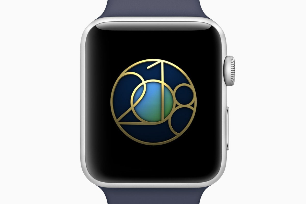 apple watch earth day badge