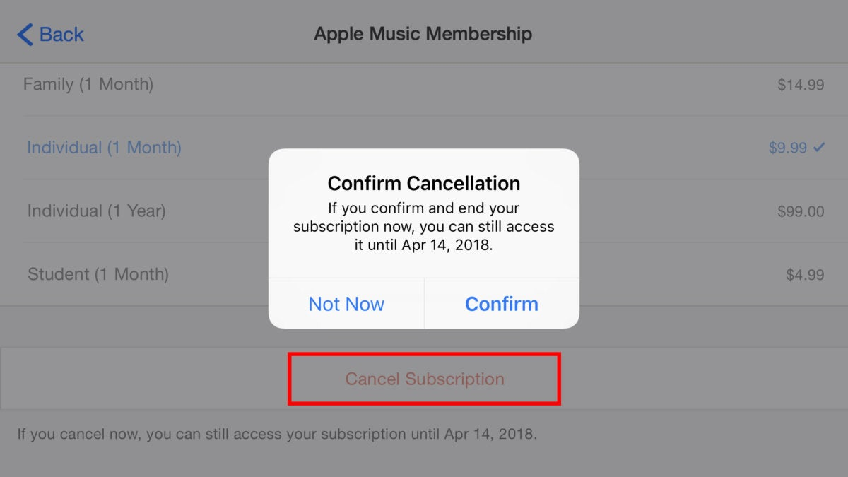 How to cancel an app subscription on iPhone or iPad | Macworld