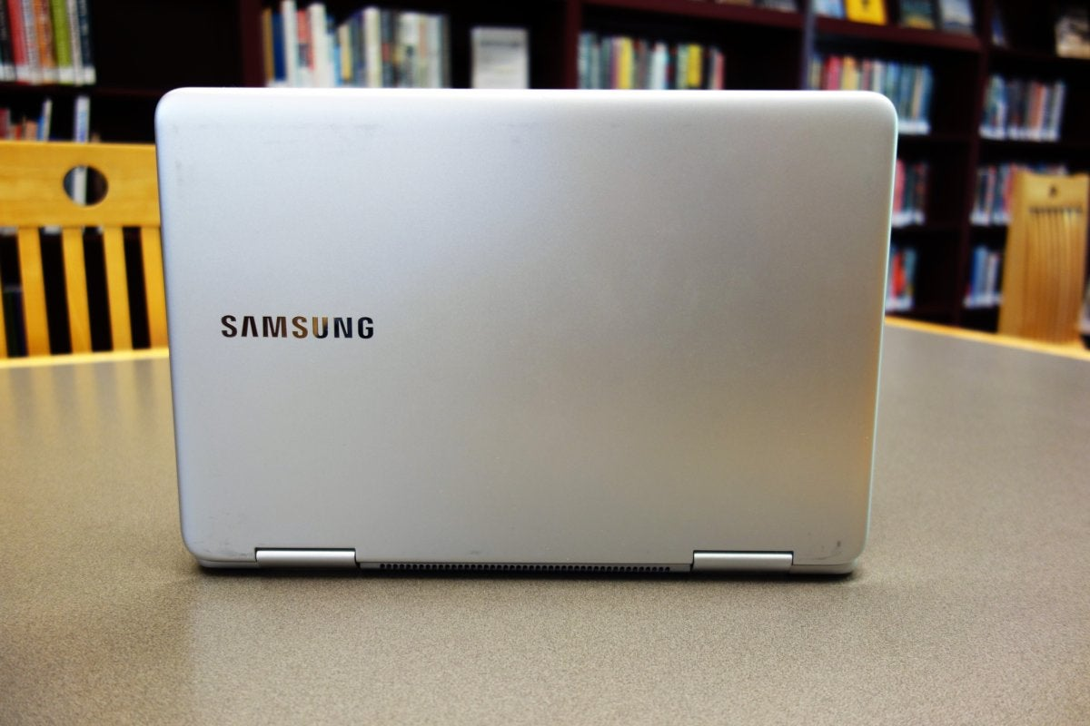 Samsung Notebook 9 Pen back