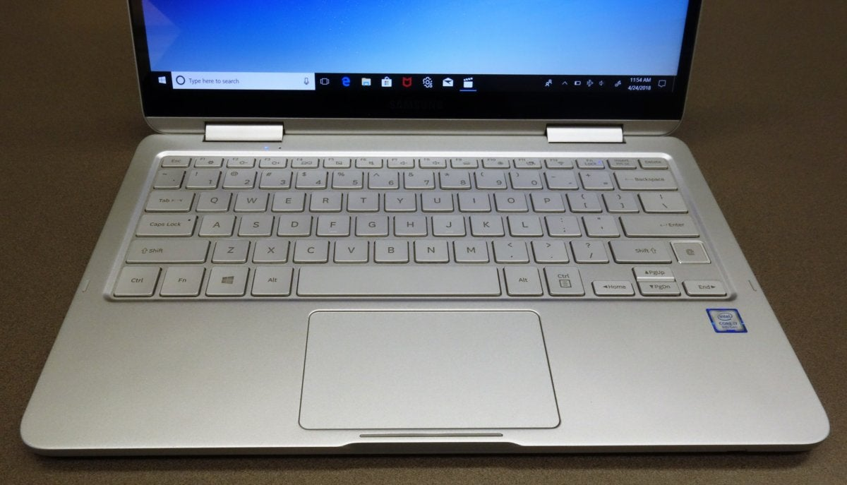Samsung Notebook 9 Pen keyboard