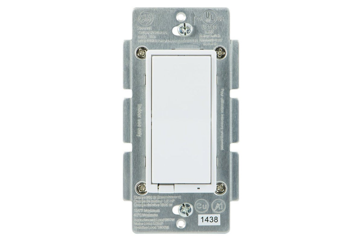 GE in-wall Z-Wave Plus smart dimmer