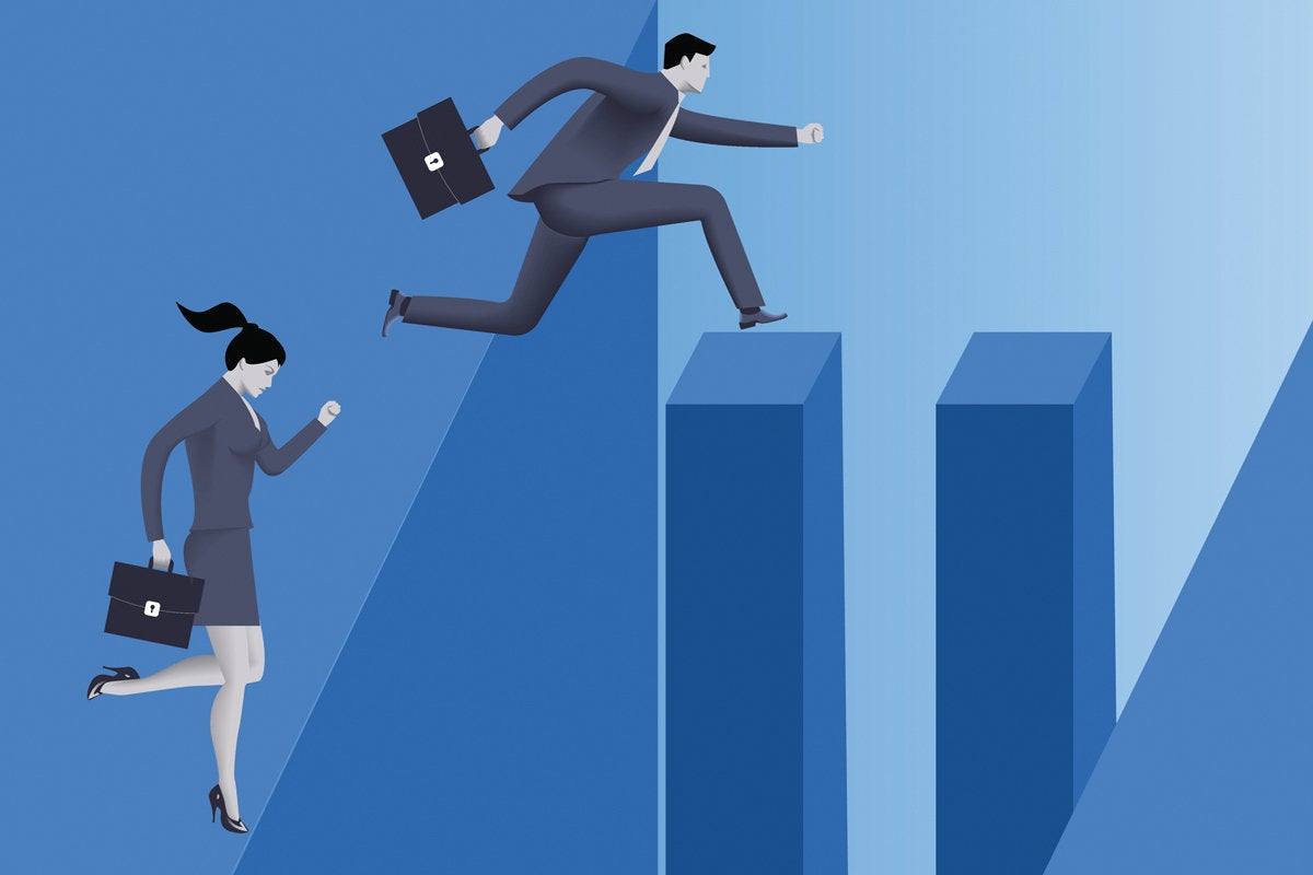 Gender pay gap shrinks, but there's still a lot of work to do