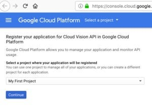 google vision api screen 4
