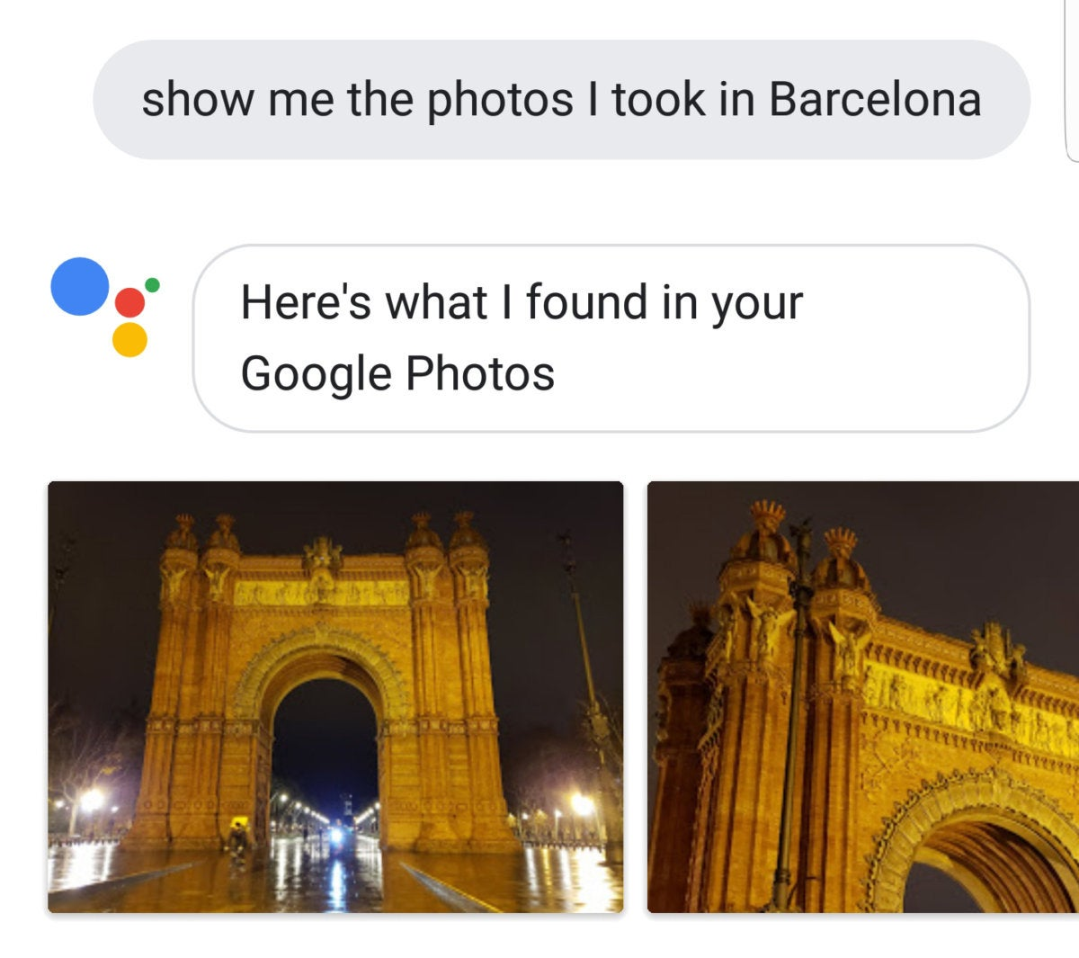 google assistant photos
