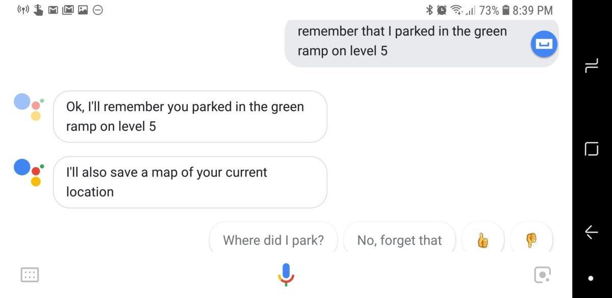 google assistant remember