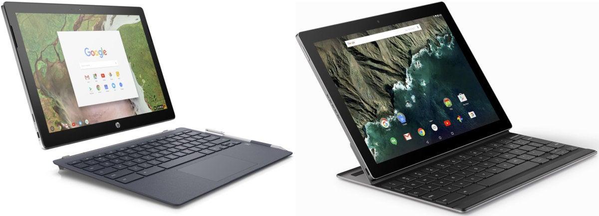 HP Chromebook x2 - Google Pixel C
